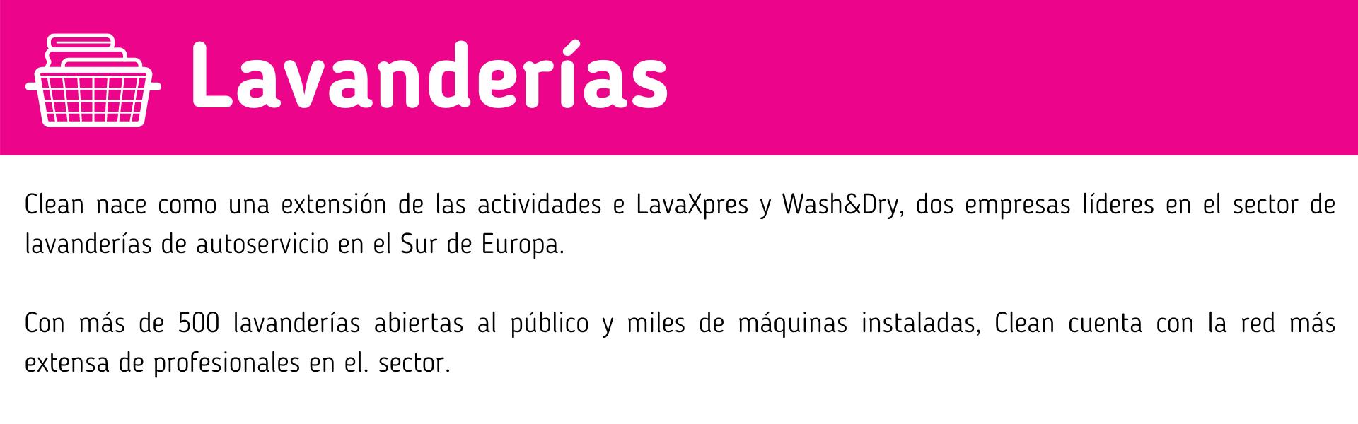 SPA Lavanderias